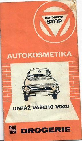 Autokosmetika garáž vašeho vozu