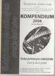 Kompendium 2008 ke konferenci Český ječmen pro světý trh sladu a piva