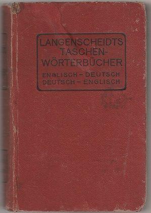 Langenscheidts Taschen-Wörterbücher englisch-deutsch deutsch-englisch