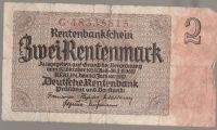 Zwei Rentenmark