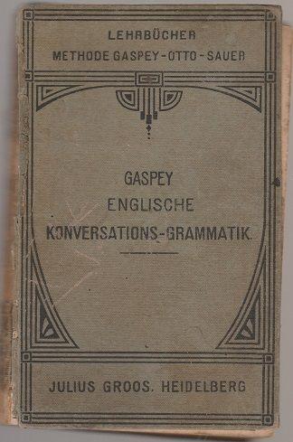 Gaspey englische konversations-grammatik