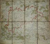 Podrobné mapy politických okresů - Kolín