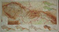 Československá republika Mapa příruční a statistická