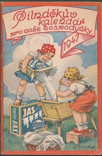 Pilňáčkův kalendář pro naše hospodyňky 1947