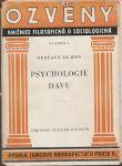 Psychologie davu - le Bon