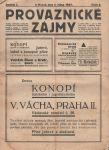 Provaznické zájmy 5/1927