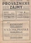 Provaznické zájmy 6/1927
