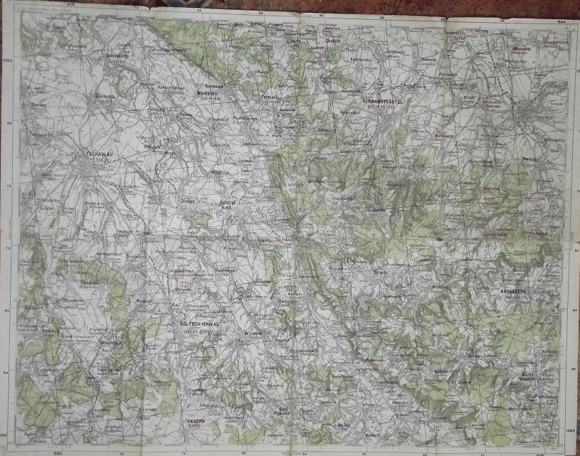 Mapa Chrudim