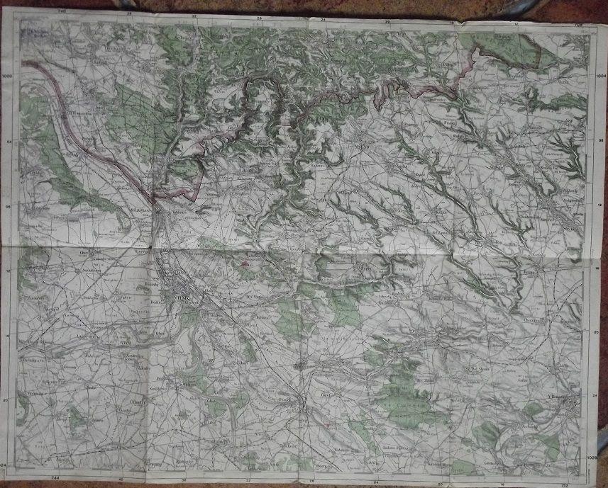 Mapa Melnik