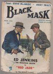 "Black mask Ed Jenkins the phantom crook in ""Red jade"" - Gardner"