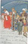 Vánoční a novoroční pozdrav Ak. mal. Josef Wenig