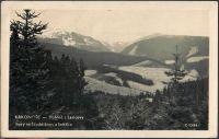 Krkonoše - Pohled s Lencovy hory na Studničnou a Sněžku