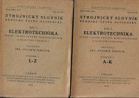 Strojnický slovník německo-česko-slovenský I. Elektrotechnika - Mikulík
