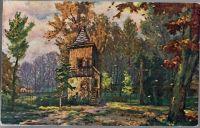 Zvonice u havířského kostelíčka v Poděbradech