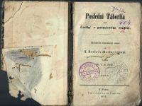 Poslední Táborita aneb Čechy v patnáctém století. Historicko-romantický obraz. I.- II. (1 svazek)