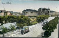 Brno. Nádraží