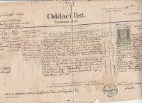 Oddací list 1894