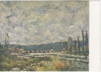 Sisley A.: Krajina s mostem