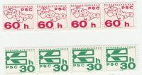 1976. Svitkové výplatní známky pof. 2216 - 17