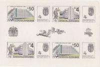 Praha současnosti Praga 1988 A2857