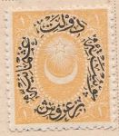 Overprint on Crescent and star Mi:TR 29