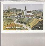 Kalendář Josef Lada 1997