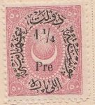 Overprint on Crescent and star Mi:TR 24