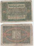 Reichsbanknote Zehn Mark