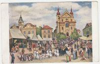 Umělecké dopisnice ze Staré Boleslavi od Fr. Rona