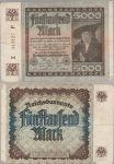 Fünftausend Mark 1922
