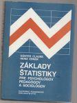 Základy štatistiky pre psychológov pedagógov a sociológov - Clauss