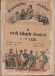 Kratochvilný slabikář a veselý kalendář obrázkový 1923
