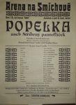 Plakát Popelka aneb Stříbrný pantoflíček 1907