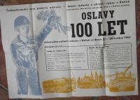 Oslavy 100 let dobrovolné požární ochrany v Kolíně