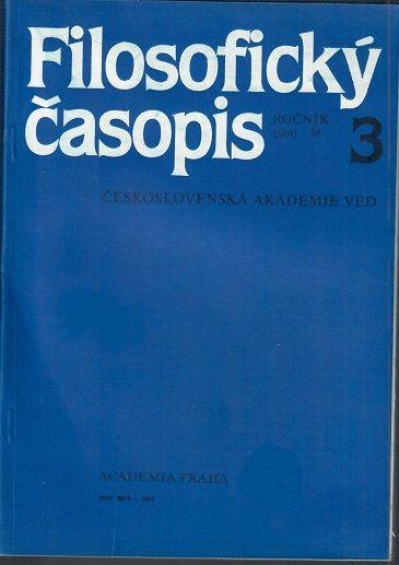 Filosofický časopis 3/1990