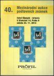 40. Mezinárodní aukce poštovních známek