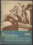 Ročenka sirotčího spolku členů národního divadla v Praze 1939