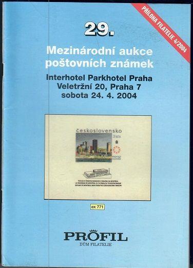 29. Mezinárodní aukce poštovních známek