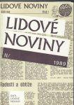 Lidové noviny 1989 lI.