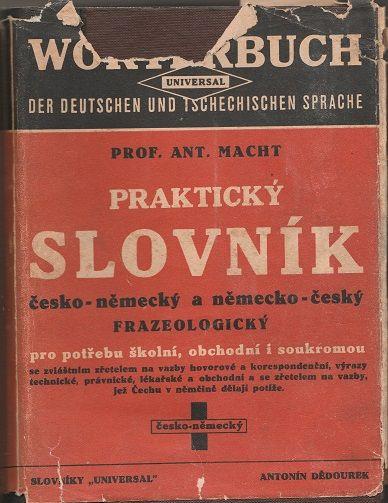 Praktický slovník česko-německý a německo-český frazeologický