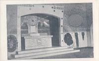 Oltář v kapli Mohyly míru