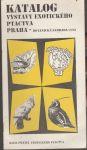 Katalog výstavy exotického ptactva Praha 1993