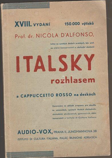 Italsky rozhlasem a Cappuccetto Rosso na deskách