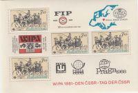 Mezinárodní výstava poštovních známek WIPA 7 Kčs 1981