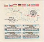 Dunaj - řeka mírové spolupráce v Evropě 1982 2x
