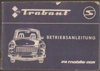 Trabant Betriebsanleitung
