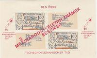 Mezinárodní veletrh poštovních známek ESSEN 80 1980